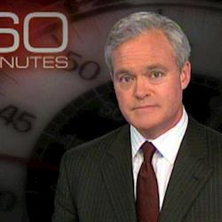 60 Minutes Host, Scott Pelley - Hair and Makeup: Meredith Boyd Cosmetics