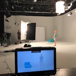 Capital Media Group studio shoot
