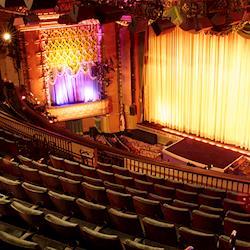 Balcony, stage shot