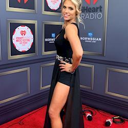 Makeup for Carla Marie iHeart Host for iHeart Radio Awards, Las Vegas, NV