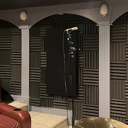 One of our recording rooms