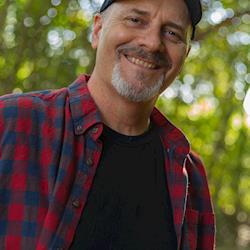 Regular outdoorsman in plaid guy