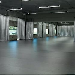 Dance Studio with mirrored walls