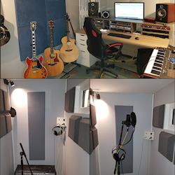 Control room & Recording booth