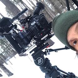 Lynn Weissman films outdoor sculpture with 2 Canon C300 Mark II cameras