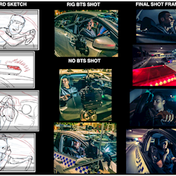 Night Time Car Chase TVC Storyboard to Final Footage - Final Edit here : https://www.youtube.com/watch?v=F7ngGu3T_SU