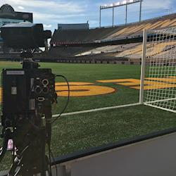 ENG Camera Op for professional soccer game