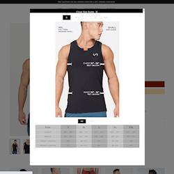TLF Apparel, Interactive Size Guide