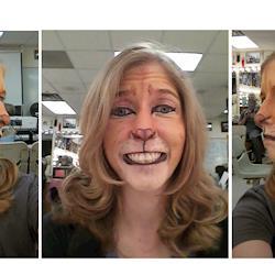 Lion facepaint