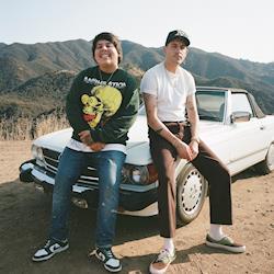 "Artists Travis Thompson and G-Eazy behind-the-scenes on SixTwentySix Productions' ""Dead Prezis"" music video"