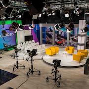 Studio A Talk Show Set