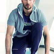Captain America's Chris Evans for Fila Hong Kong (2015) photographer Norman Jean Roy, produced by MDP