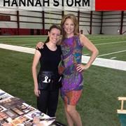 ESPN anchor, Hannah Storm