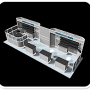 10 x 30 Trade Show Booth Layout