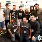IMFF 2017 mobile filmmakers group photo with festival founder