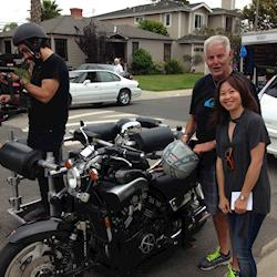 Nissan TV commercial shoot