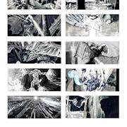 Destiny Gaming Teaser storyboard