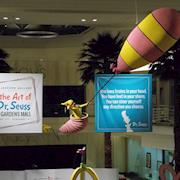 "20' Dr. Seuss prop depicting ""oh the places you will go"""