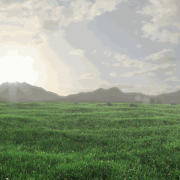 Blender Render | Grass