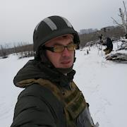 In conflict zone Donetsk area