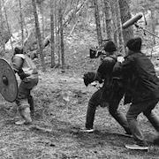 Viking film shoot.