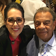 Andrew Young and Rhonda
