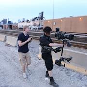 Chicago Steadicam Operator. Sony F5 on music video shoot.