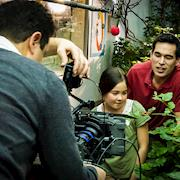 DP Chris Bell with the ARRI ALEXA filming kids and butterflies at Pacific Science Center