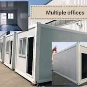 Several temporary office units can be provided at once