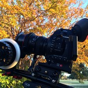 C100 with follow focus