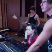 "Recording ""The Gonzos"" at Studio Gazelle in Kerrville, TX"