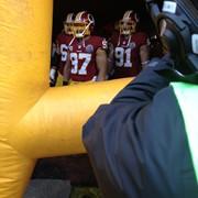 On Field - Comcast SportsNet - Washington Redskins NFL