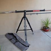 PROAIM 10' Wave Plus Crane Arm w/ Kessler K-POD Tripod and Wheels Jib Boom