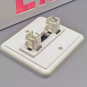 Optional wall-mount bracket.