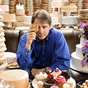 Celebrity comedian, Jeff Foxworthy; American Baking Competition CBS Hair and makeup by Meredith Boyd