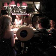 B-camera at dinner scene for Perfectly Prudence