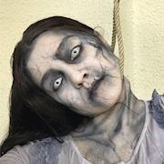 Bent Neck Lady inspired for Halloween 2018