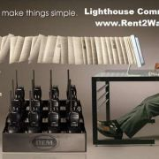 Two Way Communications Equipment Rentals