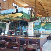Lake Okeechobee Resort - remodeling-  Everglades and Seminole Mural and permanent exhibition