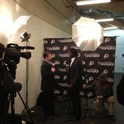 Postgame with RG3 for Comcast SportsNet - Washington Redskins NFL