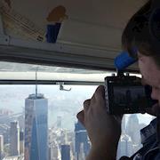 Filming aerials for ATARAXIA through an open window of a Cessna 172. Camera: BMPCC.