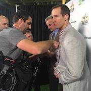 Super Bowl Media week 2016 - Drew Brees