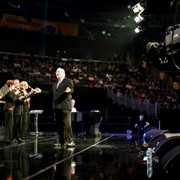 Live concert production with 30-foot jib