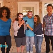 """The Ellen DeGeneres Show """"Home Makeover"""" episode. Makeup and hair by Candace Corey."""