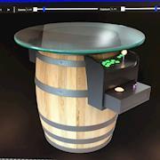 Arcade machine built in 3D...