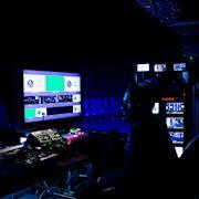 Backstage NFL production