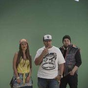 DarYela, Timbaland, and Dir. Harris Hodovic shooting at the Hit Factory in Miami, FL