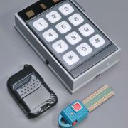 """Simulated Proximity Card Reader with keypad and special """"Electronic Key"""""""