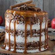 Naked Apple Spice Cake