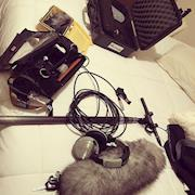 Recordist Kit For A Commercial Shoot With The Nashville Predators